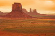 Vast landscape at Monument valley