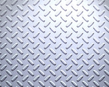 sheet of cool silver or stainless steel diamond or tread plate poster