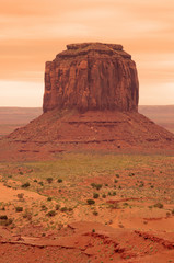 Mitten butte, Monument valley tribal park