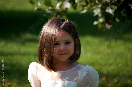 Flower Girl Close Up