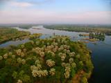 Birds eye view - Zambezi river near Victoria Falls - 4332834