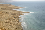 arid coastline by red sea israel poster