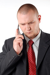 business man with mobile phone #5