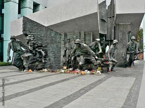 Word war II monument - 4346031