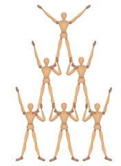 Mannequin Pyramid