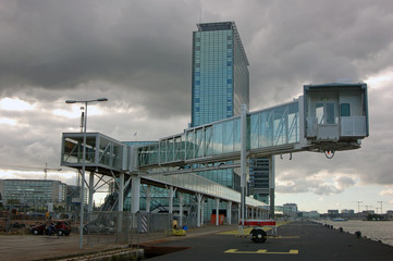 Amsterdam pier