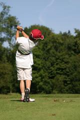 petit golfeur au finish