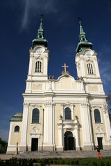 Church of the Virgin Queen in Ostrava in Czech republic