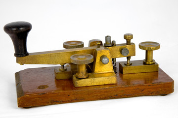 Vintage British Post Office Morse Key