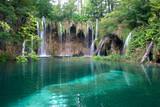 Fototapety Lake and waterfalls