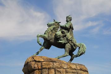 Bogdan Khmelnytsky monument in Kiev