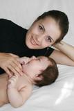 Happy motherhood poster