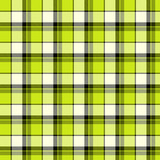 Green plaid fabric poster