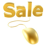 golden mouse and buy poster