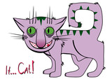 It... Cat! Cartoon. poster
