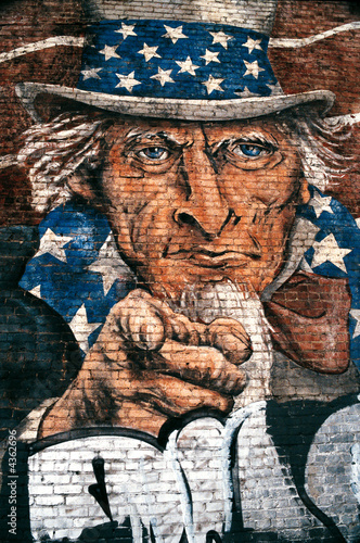 Leinwandbilder,california,uncle sam,usa,salzwiese