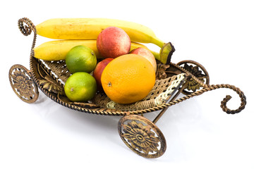 Fruits on the carriage