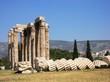 Au pied de l'Olympéion - 2 - Athènes