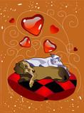 pet love poster