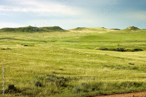 Montana cowboy country farmland