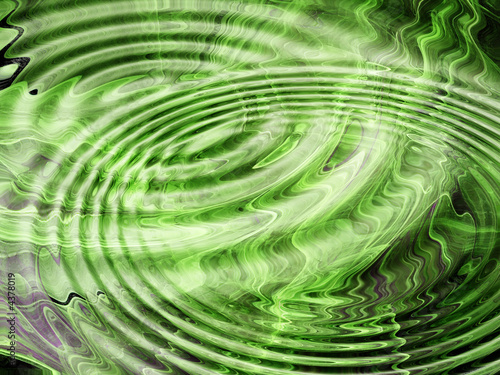 Staande foto Fractal waves Abstract Graphic