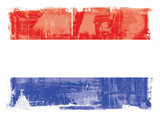 The flag of the Netherlands poster