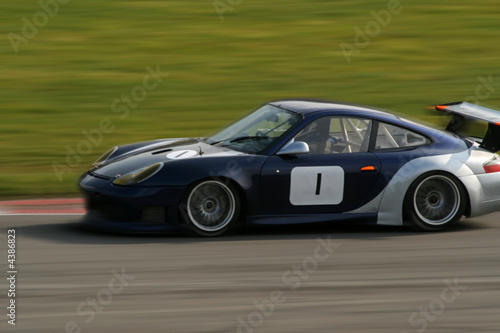 Foto op Canvas Snelle auto s race car on track