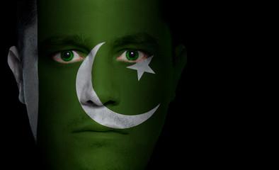 Pakistani Flag - Male Face