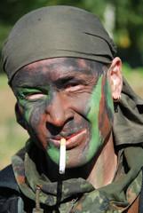 Bundeswehr Zigarettenpause