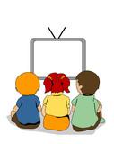 Fototapety Watching TV