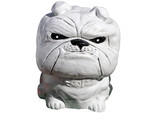 Concrete Bulldog with clipping path poster