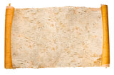expanded birchen bark scroll
