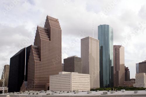 Fotobehang Texas Houston Texas Skyline
