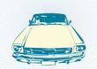 roleta: retro Car