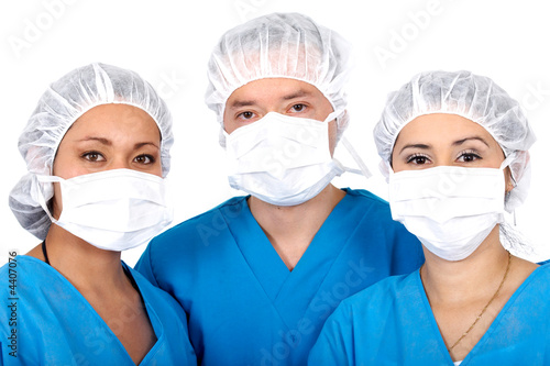 poster of group of surgeons