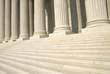 Leinwandbild Motiv US Supreme Court - Steps and Columns
