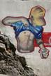 Leinwanddruck Bild - grafitero mostrando sus encantos