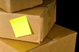 Corrugated Shipping Boxes poster