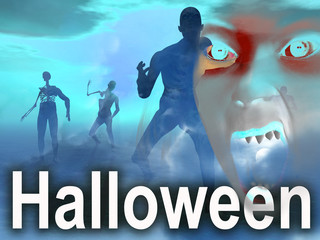 Halloween Zombie Eyes 4
