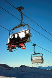 Chair-lift poster