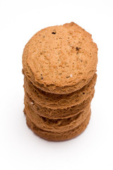 Tower from biscuit