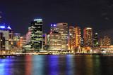 Fototapety Sydney - Hafen / Harbour at night