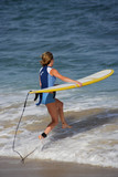 surfing in Los Cabos, Baja California Sur, Mexico poster
