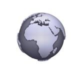 Fototapety africa map