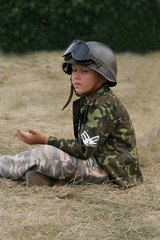 Military boy