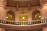 Inside the State Capitol Building in downtown Austin, Texas poster