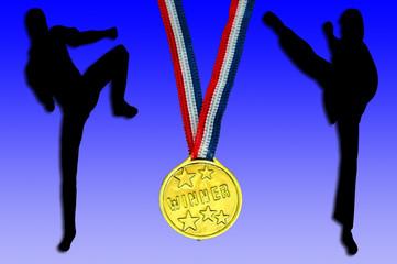 Martial arts winner