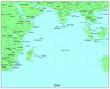 Sea maps series: Indian Ocean