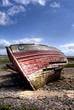 Wrecked Hull in Barrow in Furness