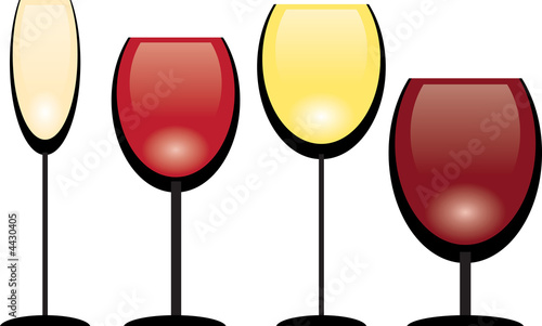 A collection of wine glasses